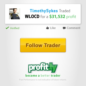 Tim Sykes Verified Profits